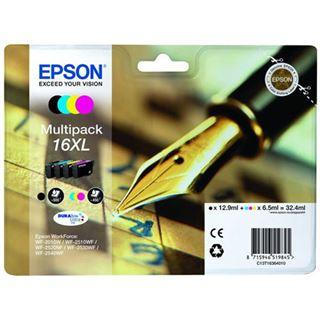 Epson Tinte 16 XL C13T16364022 cyan, magenta, gelb