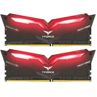 16GB TeamGroup T-Force Nighthawk rot DDR4-2666 DIMM CL15 Dual Kit