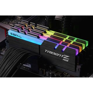 32GB G.Skill Trident Z RGB DDR4-3200 DIMM CL14 Quad Kit
