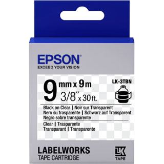 Epson Band schwarz/transparent 9mm