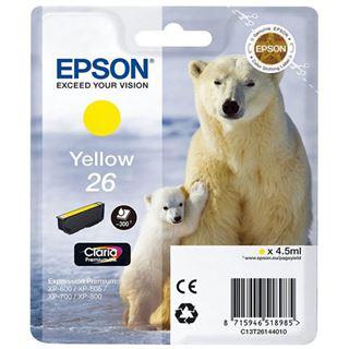 Epson Tinte 26 C13T26144022 gelb