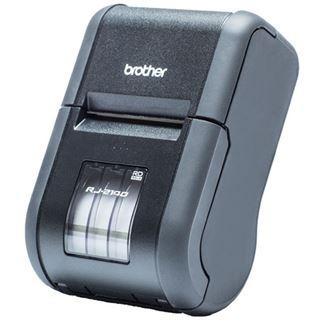 Brother RJ-2140 mobiler Beleg- und Etikettendrucker (Thermodirekt, 203dpi, bis zu 152 mm/Sek., USB, Wlan)