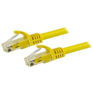 (€1,78*/1m) 5.00m Startech Cat. 6 Patchkabel U/UTP RJ45 Stecker auf RJ45 Stecker Gelb Rastnasenschutz