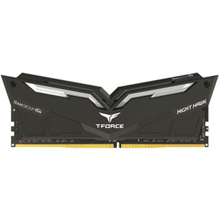 16GB TeamGroup T-Force Nighthawk Red DDR4-3000 DIMM CL16 Dual Kit