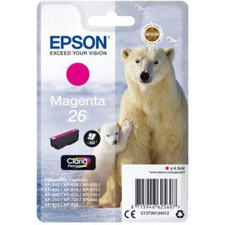 Epson Tinte 26 C13T26134022 magenta