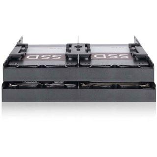 """IcyDock Einbaurahmen 4x6,3cm HDD/SSD für externen 5,25"""""""