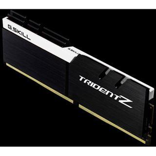 16GB G.Skill Trident Z schwarz/weiß DDR4-4000 DIMM CL18 Dual Kit