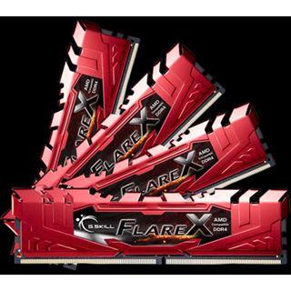 32GB G.Skill Flare X rot DDR4-2133 DIMM CL15 Quad Kit