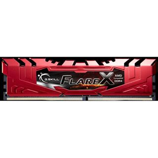 32GB G.Skill Flare X rot DDR4-2400 DIMM CL16 Quad Kit