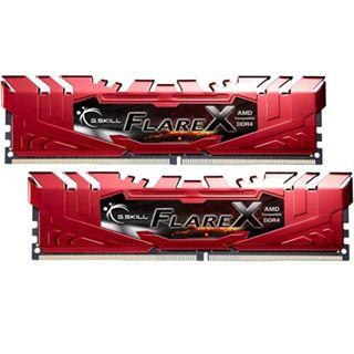32GB G.Skill Flare X rot DDR4-2400 DIMM CL16 Dual Kit