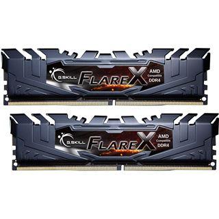 16GB G.Skill Flare X schwarz DDR4-2400 DIMM CL15 Dual Kit