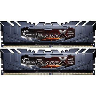 32GB G.Skill Flare X schwarz DDR4-2400 DIMM CL15 Dual Kit