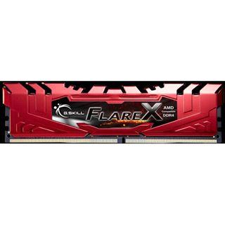 32GB G.Skill Flare X rot DDR4-2400 DIMM CL15 Dual Kit