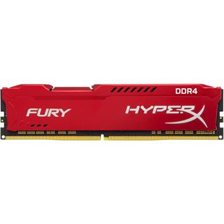 64GB HyperX FURY rot DDR4-2133 DIMM CL14 Quad Kit