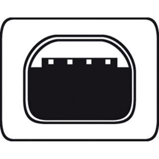 (€2,17*/1m) 1.80m Digitus USB2.0 Anschlusskabel doppelt geschirmt USB A Stecker auf USB miniB 4pol Stecker Schwarz vernickelt
