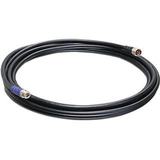 (€9,32*/1m) 6.00m Trendnet WLAN Antennenkabel 2x 0.75qmm N Stecker auf N Buchse Schwarz geschirmt