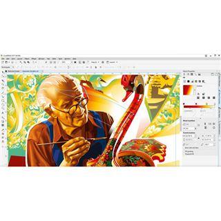 Corel CorelDraw Graphics Suite 2017 32 Bit Deutsch Grafik Vollversion