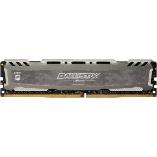 8GB Crucial Ballistix Sport LT Single Rank grau DDR4-2666 DIMM CL16 Single