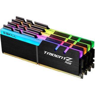 64GB G.Skill Trident Z RGB DDR4-3000 DIMM CL14 Quad Kit