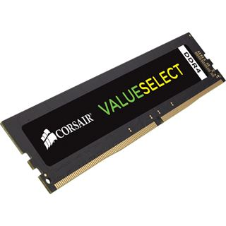 4GB Corsair Value Select DDR4-2400 DIMM CL16 Single