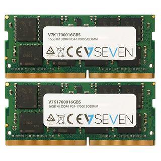 16GB V7 V7K1700016GBS DDR4-2133 SO-DIMM CL15 Dual Kit