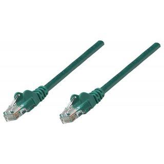 (€0,65*/1m) 20.00m Intellinet Cat. 6a Patchkabel S/FTP RJ45 Stecker auf RJ45 Stecker Grün doppelt geschirmt / Kupfer / vergoldet