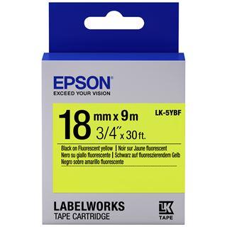 Epson TAPE - LK5YBF FLUOR BLK/