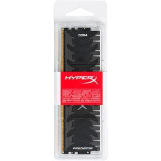32GB HyperX Predator schwarz DDR4-2400 DIMM CL12 Quad Kit
