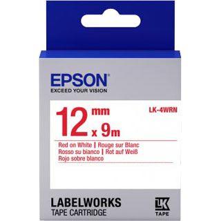 Epson Band standard 12mm rot/weiß