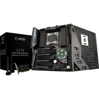 MSI X299 XPOWER GAMING AC Intel X299 So.2066 Quad Channel DDR4 EATX