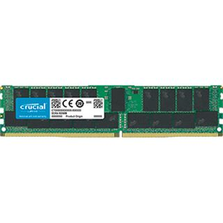 32GB Crucial CT32G4RFD4266 DDR4-2666 regECC DIMM CL19 Single