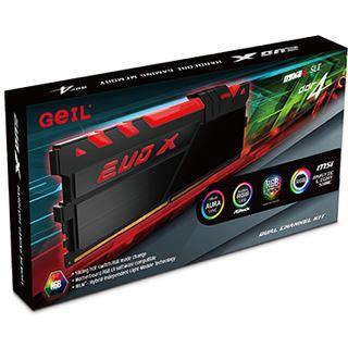 32GB GeIL EVO X schwarz DDR4-2400 DIMM CL16 Dual Kit