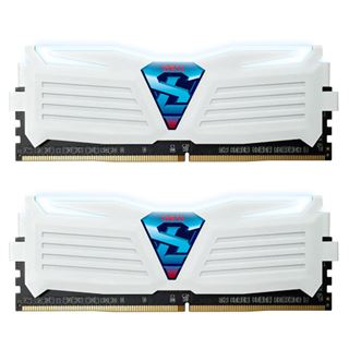 8GB GeIL EVO Super Luce weiße LED weiß DDR4-2400 DIMM