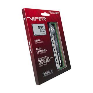 8GB Patriot Viper 4 Elite grau DDR4-2133 DIMM CL14 Dual Kit