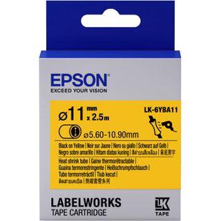 Epson TAPE - LK6YBA11 HST schwarz/gelb