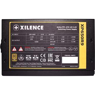 650 Watt Xilence Performance X Non-Modular 80+ Gold