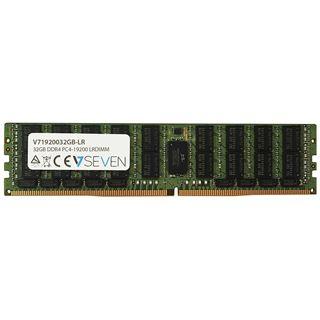 32GB V7 V71920032GB-LR DDR4-2400 regECC DIMM CL15 Single