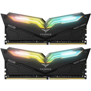 16GB TeamGroup T-Force Night Hawk RGB schwarz DDR4-3000 DIMM CL16