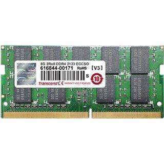 8GB Transcend TS1GSH72V1H DDR4-2133 ECC SO-DIMM CL15 Single