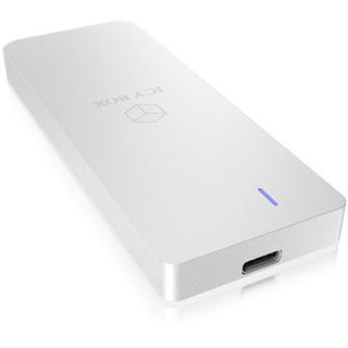 Icy Box Geh. USB 3.1 M.2 SATA SSD IB-188M2 silver