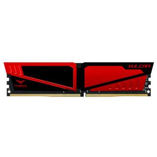 8GB TeamGroup T-Force Vulcan rot DDR4-2400 DIMM CL14 Single