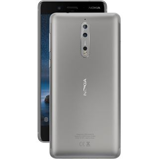 Nokia 8 Single SIM stahlgrau