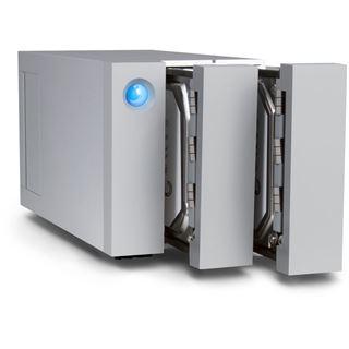 "8000GB LaCie 2big STEY8000401 3.5"" (8.9cm) 2x Thunderbolt 3 40Gb/s / USB 3.0 silber"
