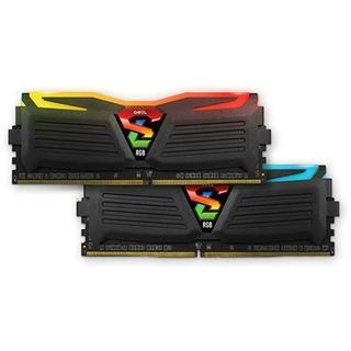 8GB GeIL EVO Super Luce Sync RGB LED schwarz DDR4-2400 DIMM CL16 Dual Kit