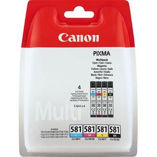 Canon Tinte CLI-581 2103C004 cyan/magenta/gelb