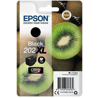 Epson Claria Premium INK 202XL EXPRESSION PREMIUM schwarz Kapazität: 13,8ML