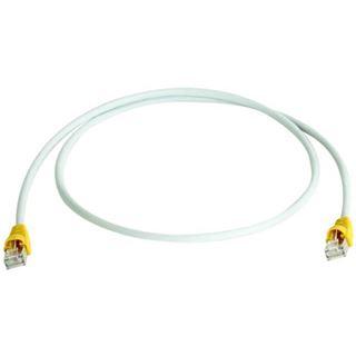 3.00m Telegärtner Cat. 6a Patchkabel Crossover S/FTP PiMF RJ45 Stecker auf RJ45 Stecker Gelb