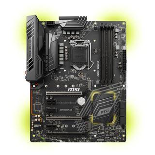 MSI Z370 SLI PLUS Intel Z370 So.1151 Dual Channel DDR4 ATX Retail