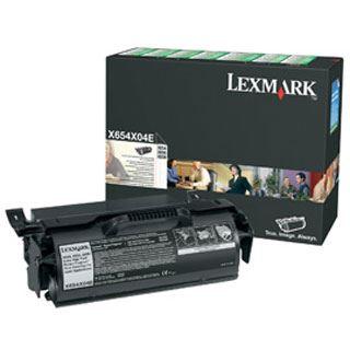 Lexmark X654X04E Toner für X654 schwarz