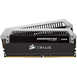16GB Corsair Dominator Platinum DDR4-4000 DIMM CL19 Dual Kit